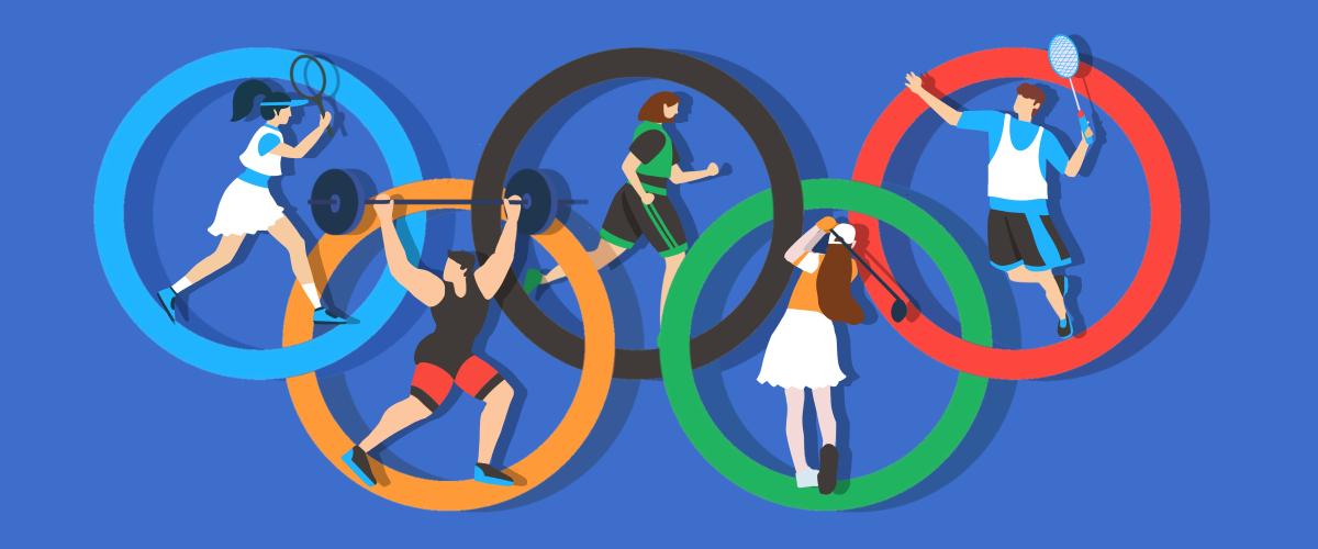 摄图网_401951994_2021东京奥运会扁平风插画(非企业商用).jpg