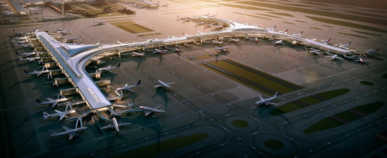 上海浦东机场卫星厅鸟瞰图.jpg