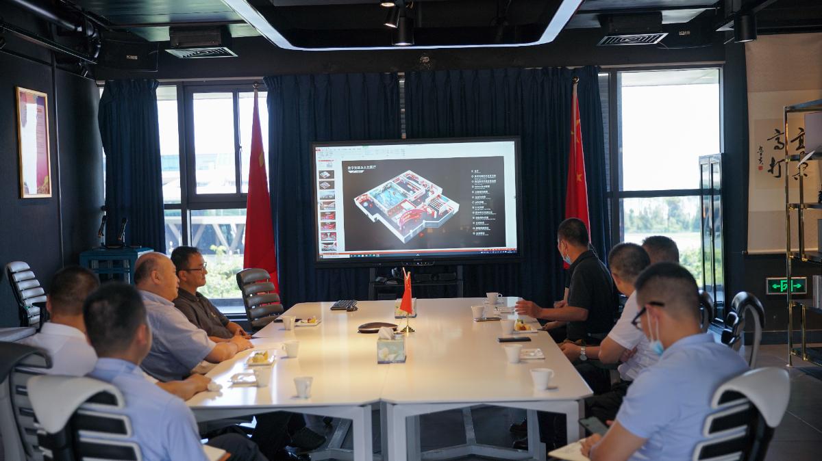 刘毅宙听取了网龙数字党建永久展厅总体规划.jpg