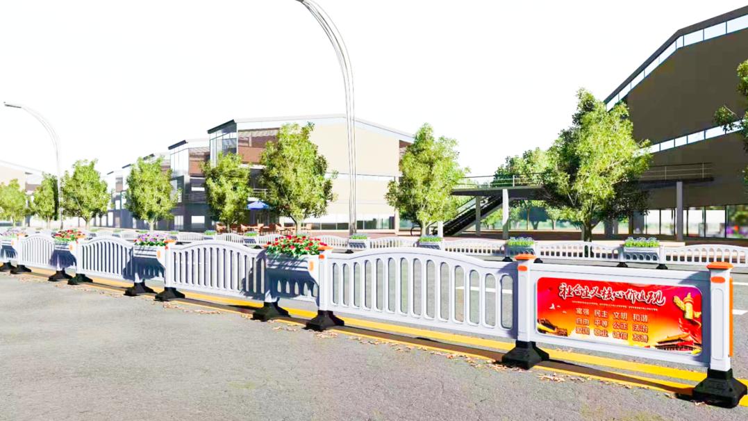 甘肃生态艺术围栏